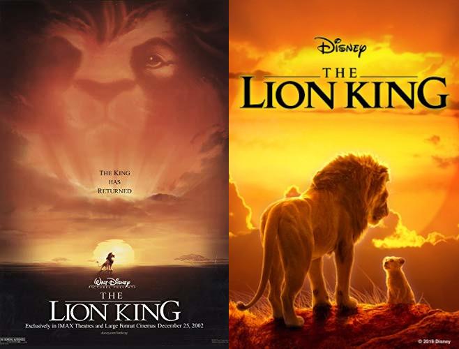 The Lion King 1994 V 2019 Leo Loves